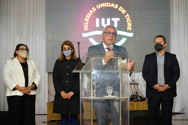 Julio Zamora presentó la nueva Dirección de Cultos del Municipio de Tigre