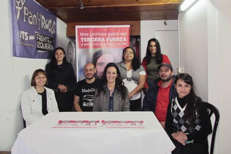 Paula Akerfeld pidió a los vecinos de Tigre que acompañen a los candidatos del Frente de Izquierda