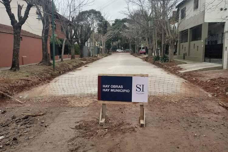 San Isidro avanza con la repavimentación de más de 60 cuadras en Beccar
