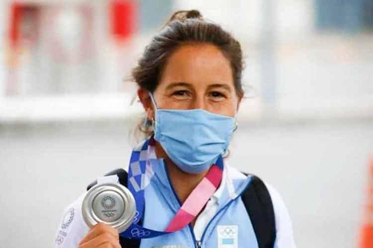 La Leona Sofía Maccari denunció que le robaron la medalla de plata que obtuvo en Tokio