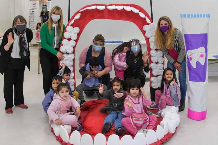 San Fernando relanzó su Programa de Salud Bucal con controles odontológicos para chicos