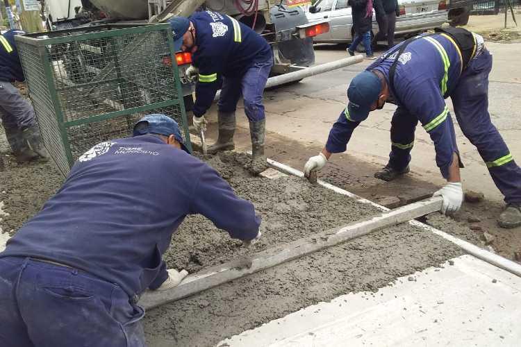 Tigre construye nuevas veredas vecinales en Don Torcuato y El Talar