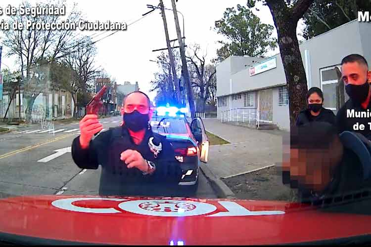 Fue detenido en Tigre tras un intento de robo a mano armada