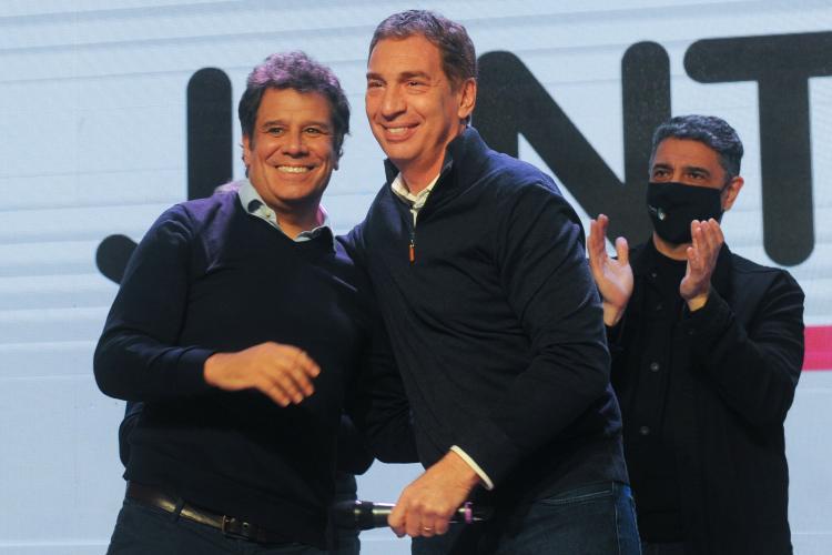 Diego Santilli y Facundo Manes