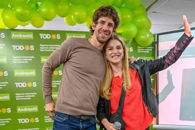 Eva Andreotti ganó las PASO superando el 43% de los votos en San Fernando