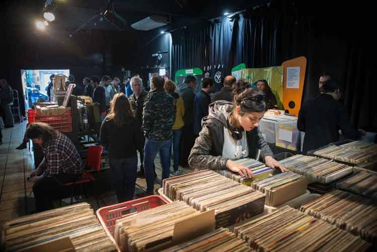 La feria de discos de vinilo vuelve a San Isidro