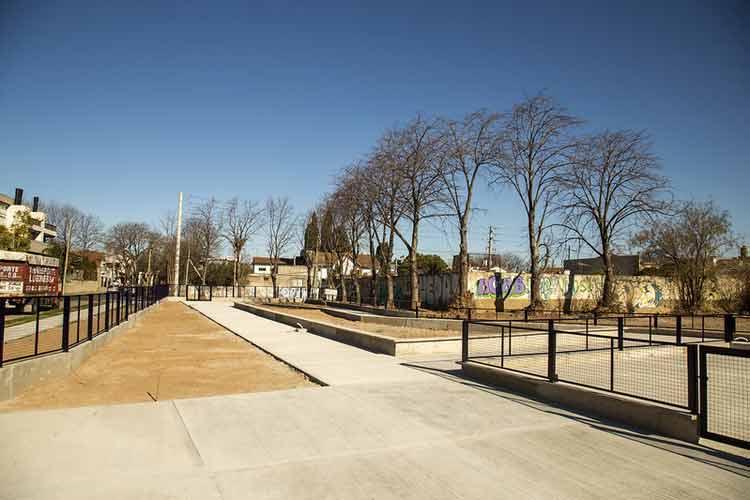 San Isidro construye una moderna plaza en Beccar