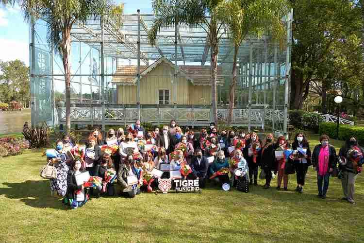 Tigre reconoció la labor de docentes en la Casa Museo Sarmiento del Delta