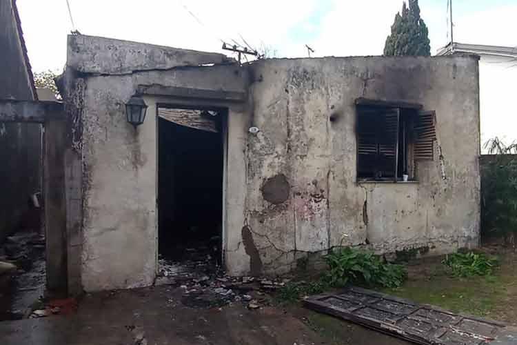 Boulogne: Un niño pidió ayuda por Tiktok para reconstruir la casa para su mamá
