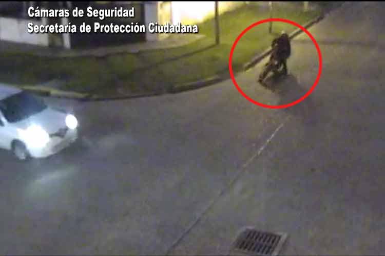 Padre e hija fueron asistidos tras accidentarse con una moto en Tigre