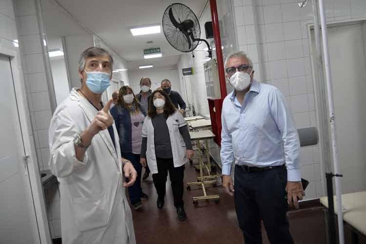 Finalizan la primera etapa de refacciones en el Hospital de General Pacheco