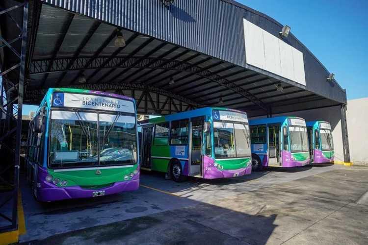 Vicente López: El Transporte del Bicentenario retoma su servicio con nuevos protocolos