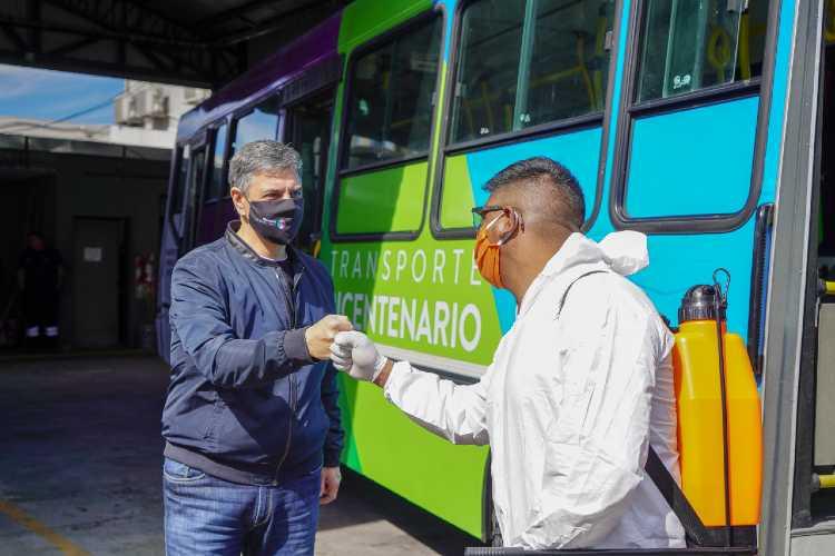 El Transporte del Bicentenario retoma su servicio