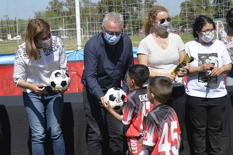 Lanzaron la Liga Municipal Infantil de Baby Fútbol de Tigre