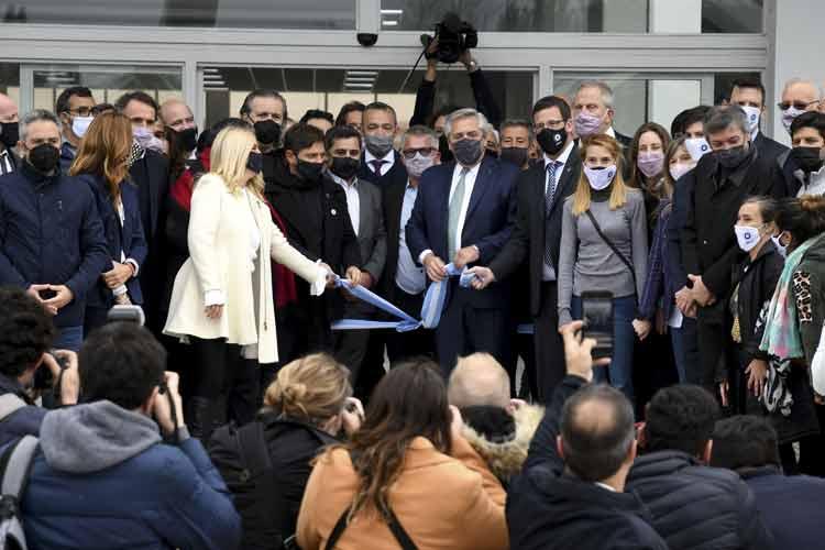 Alberto Fernández Inauguró la Facultad de Ciencias Médicas de la Universidad Nacional de José C. Paz