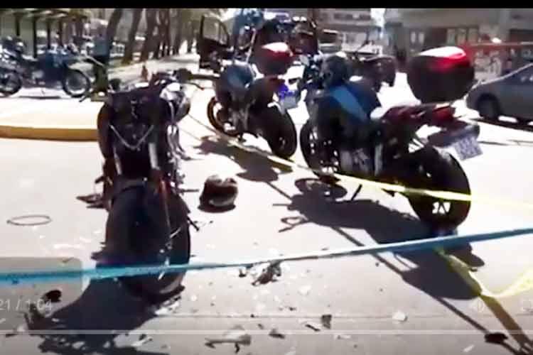Tras intensa persecución desde Belgrano a Vicente López detuvieron a dos motochorros