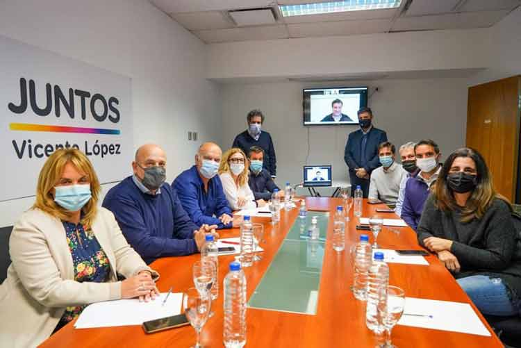 La Mesa Provincial de JxC se reunió en Vicente López para unificar la campaña electoral