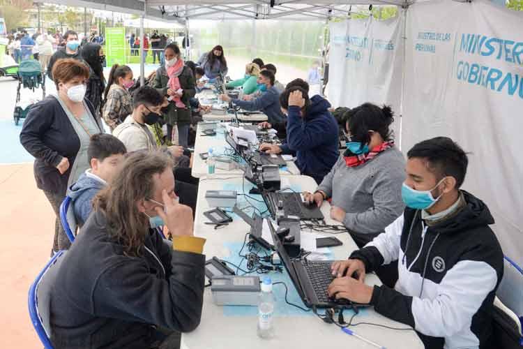 Comenzó el operativo de DNI y documentación en San Fernando