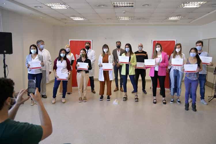 El Municipio entregó diplomas a residentes egresados del sistema de salud de Tigre