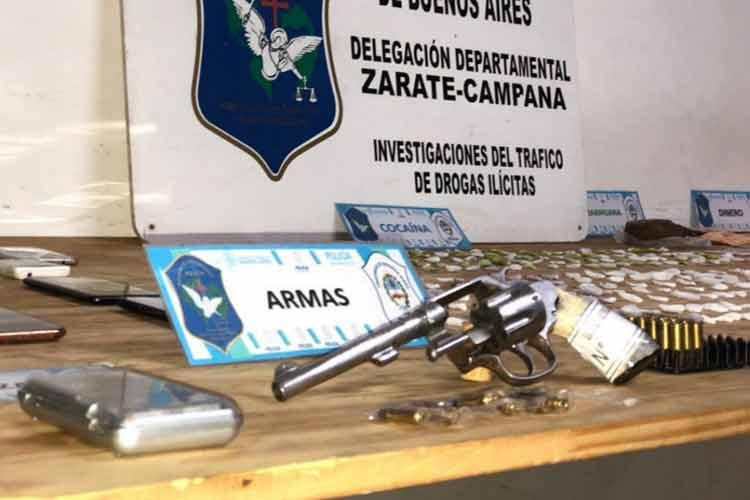 Escobar: Tras once allanamientos desbaratan una banda de narcomenudeo