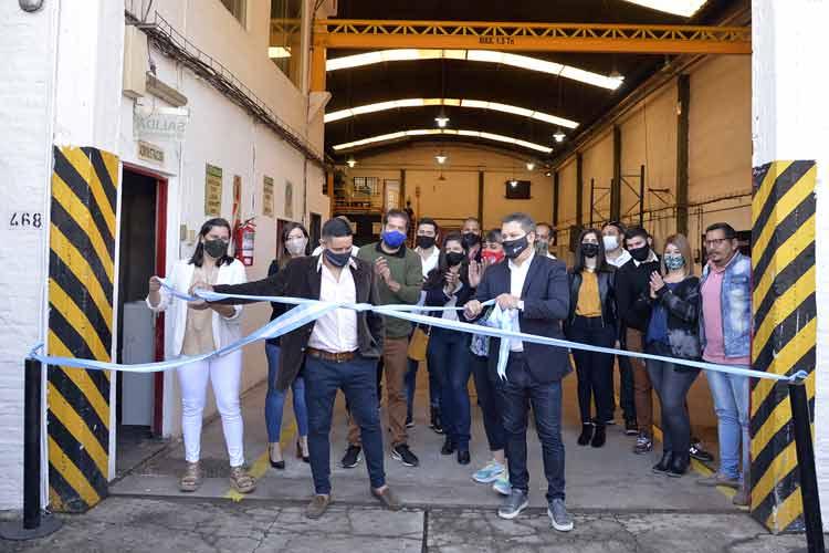 Tigre acompañó la inauguración de la nueva planta productiva de la empresa Provinox