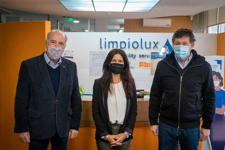 Gustavo Posse visitó una empresa sustentable de Martínez
