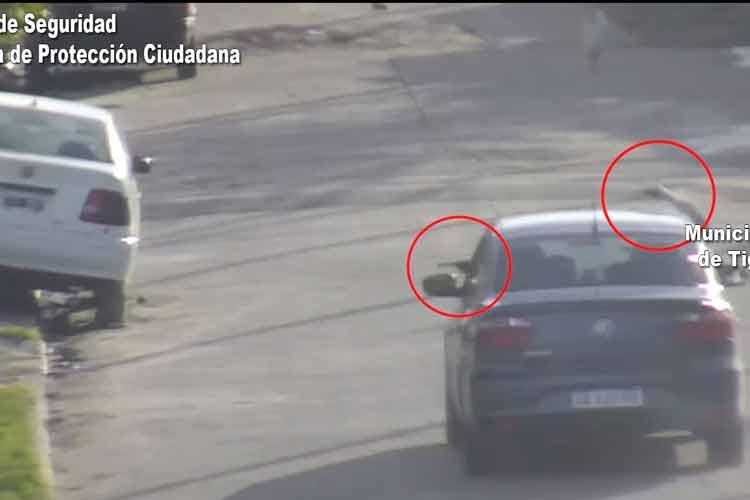 Tras una intensa persecución en Tigre detienen a tres sujetos armados