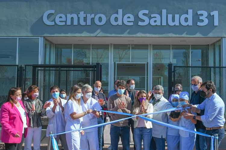 Andreotti inauguró el nuevo Centro de Salud 31 de San Fernando junto a Katopodis, Kreplak y Gollán