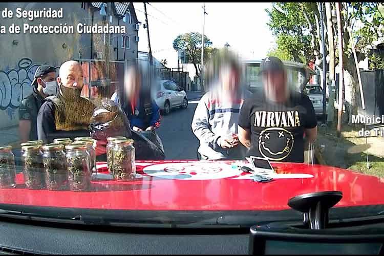 Detienen en Tigre a un sujeto que comercializaba estupefacientes