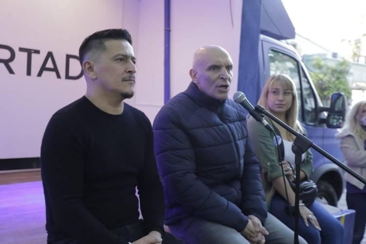 José Luis Espert visitó Tigre y San Fernando