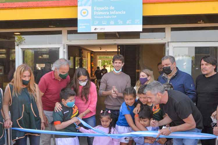El Virreyes Rugby Club inauguró su Espacio de Primera Infancia