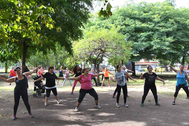 Actividades deportivas gratuitas en los espacios públicos de San Isidro
