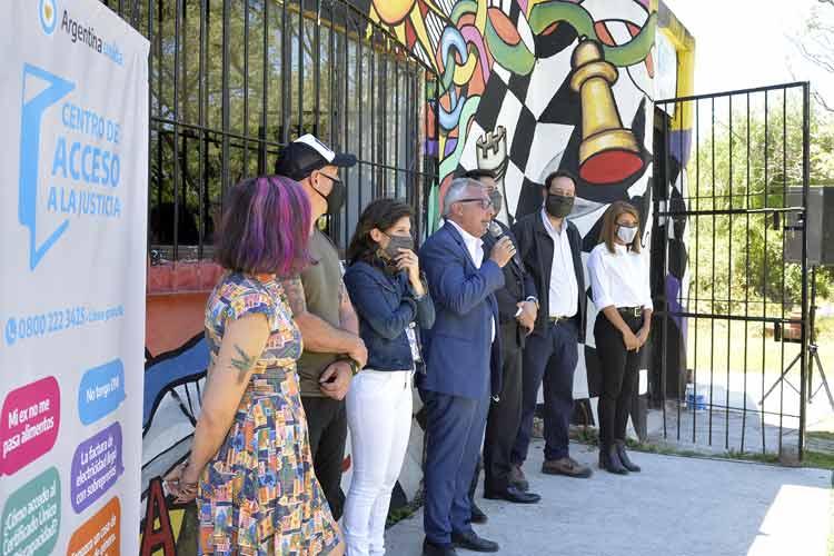 Ya funcionan las nuevas oficinas del Centro de Acceso a la Justicia de Tigre